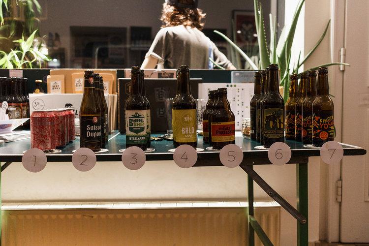 Biertasting Bier macht Schön